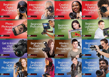 16 Live Web Photography Courses!