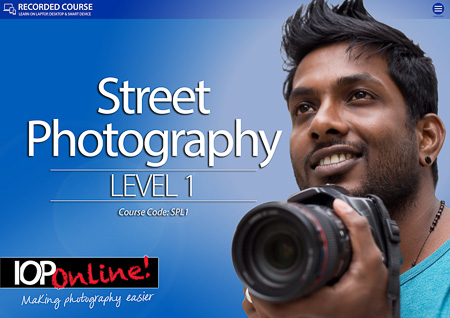STREET PHOTOGRAPHY LEVEL 1  - Beginners Course