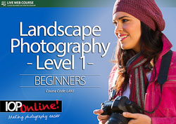 LANDSCAPE PHOTOGRAPHY LEVEL 1 - Beginner Level Course