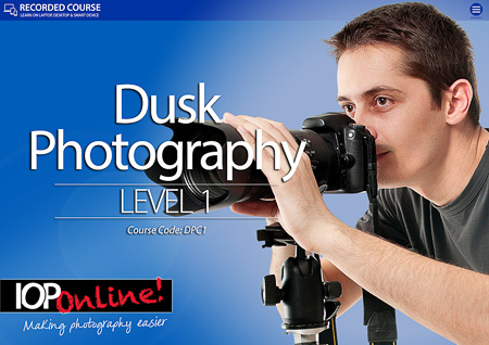 DUSK PHOTOGRAPHY LEVEL 1  - Beginners Course